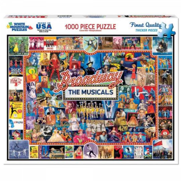 WHITE MOUNTAIN PUZZLES BROADWAY THE MUSICALS PUZZLE