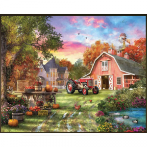 WHITE MOUNTAIN PUZZLES FARM LIFE 1000 PIECE