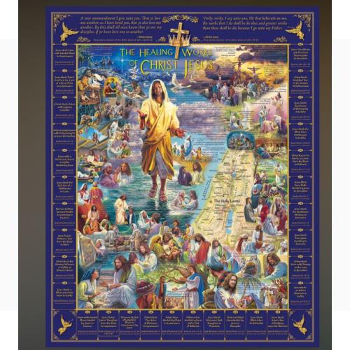 WHITE MOUNTAIN PUZZLES HEALINGS OF JESUS 1000 PIECE