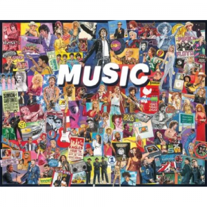 WHITE MOUNTAIN PUZZLES MUSIC PUZZLE