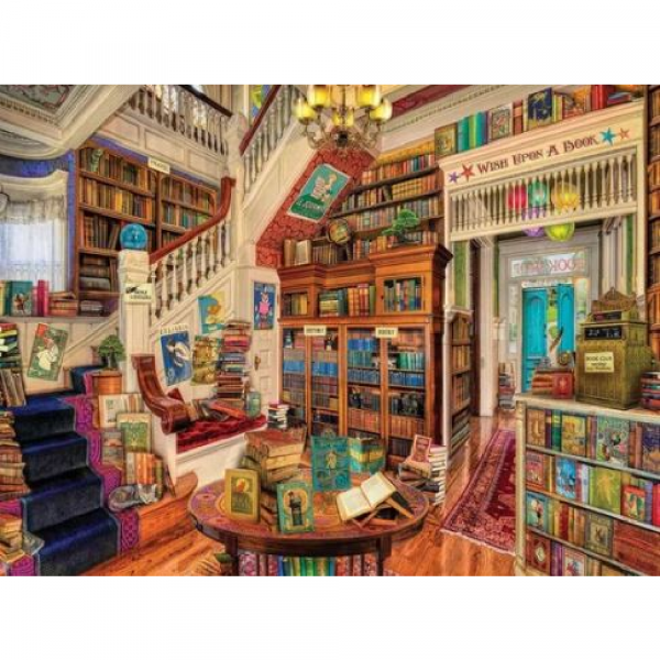 WHITE MOUNTAIN PUZZLES READERS PARADISE PUZZLE