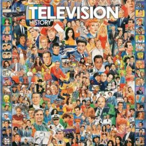 WHITE MOUNTAIN PUZZLES TELEVISION HISTORY PUZZLE