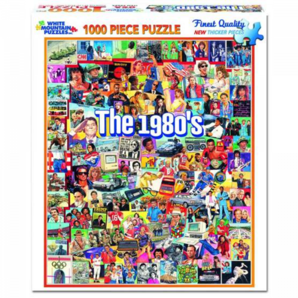 WHITE MOUNTAIN PUZZLES THE EIGHTIES PUZZLE