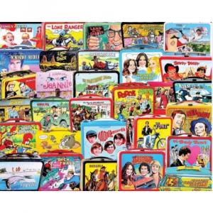 WHITE MOUNTAIN PUZZLES TV LUNCH BOXES PUZZLE
