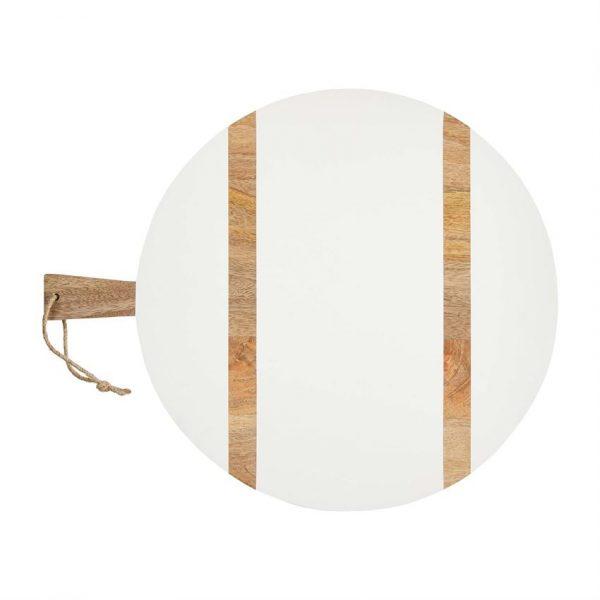 WHITE ROUND PADDLE BOARD