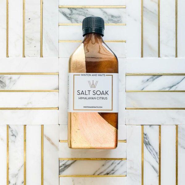 WINTON & WAITS SALT SOAK- HIMALAYAN CITRUS