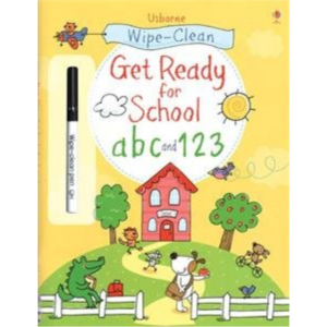 WIPE-CLEAN GET READY FOR SCHOOL