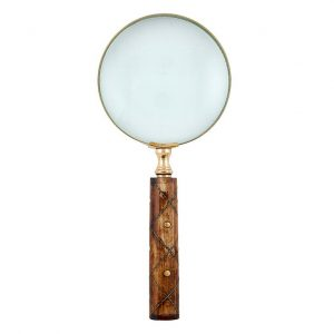 WIRE INLAY MAGNIFYING GLASS