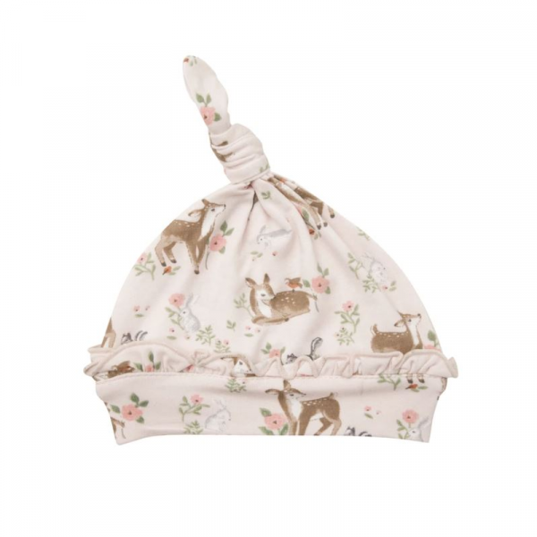 WOODLAND ANIMAL KNOTTED HAT