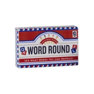 WORD ROUND MATCHBOX GAME