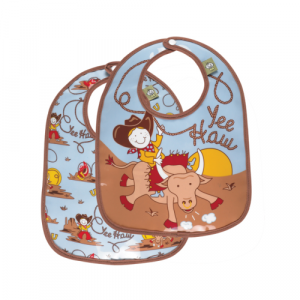 YEE HAW MINI BIB SET OF 2