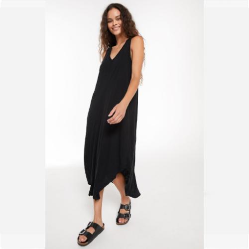 Z SUPPLY BLACK IRIS REVERIE DRESS