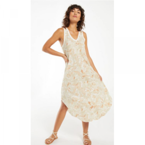 Z SUPPLY REVERIE FLORAL MIDI DRESS