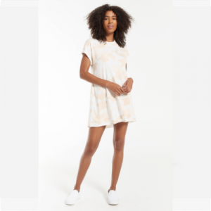 Z SUPPLY SAND STORM AGNES CAMO DRESS